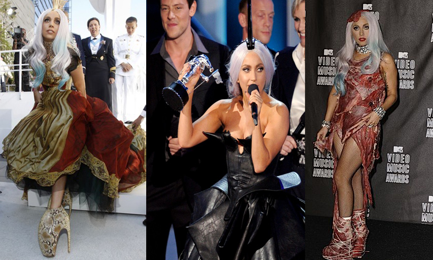 Lady Gaga VMA Dresses