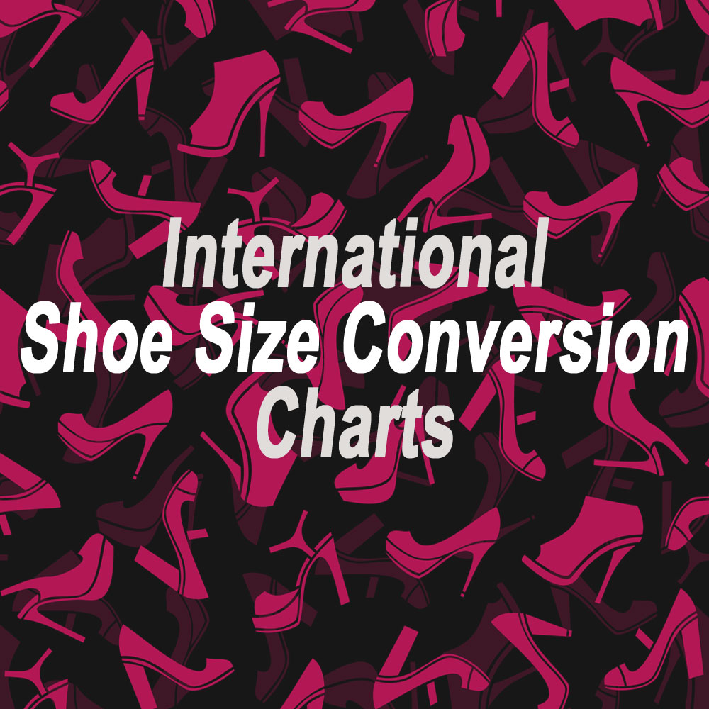 International shoe size conversion chart nvjuhfo Choice Image